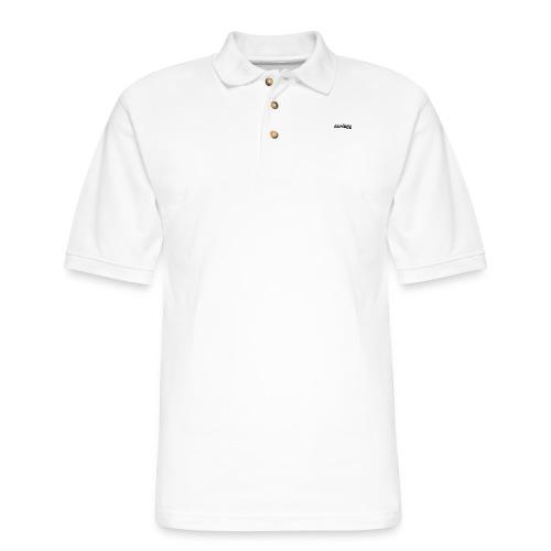 double a vlogz - Men's Pique Polo Shirt