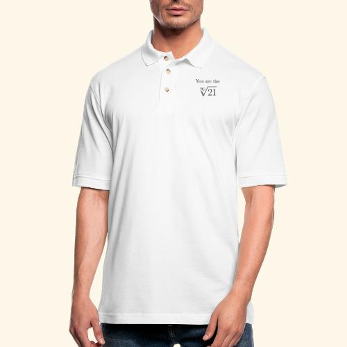 You are the one 21 - Men's Pique Polo Shirt