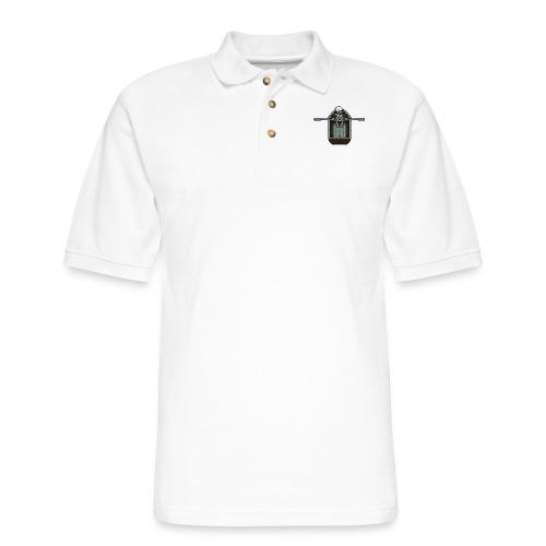 Ghost boat - Men's Pique Polo Shirt