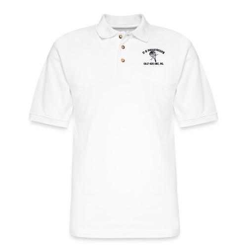 Co.F 425 INF, MI. - Men's Pique Polo Shirt