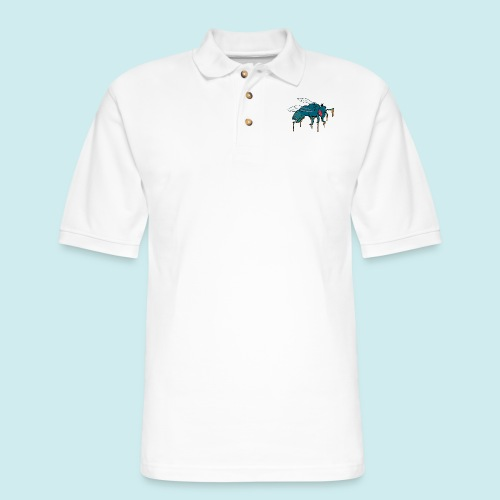 Honey Bee - Men's Pique Polo Shirt