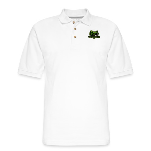 Venomous Text Logo - Men's Pique Polo Shirt