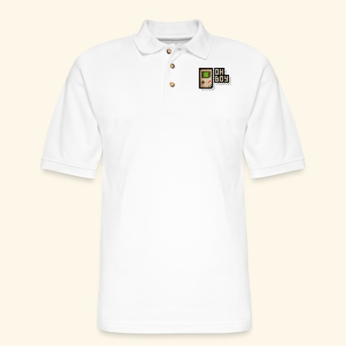 Oh Boy - Men's Pique Polo Shirt