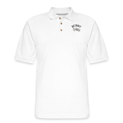 Detroit Art Project - Men's Pique Polo Shirt