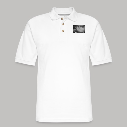 it was more fun in hell - Men's Pique Polo Shirt
