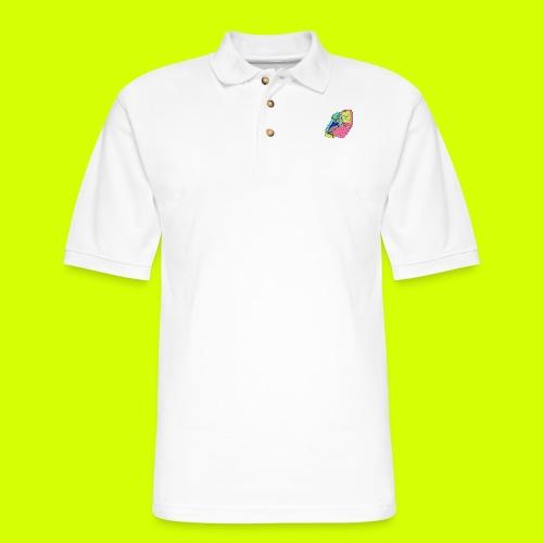 flip phone girl - Men's Pique Polo Shirt