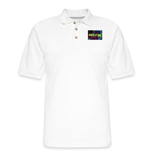 daily db poster - Men's Pique Polo Shirt