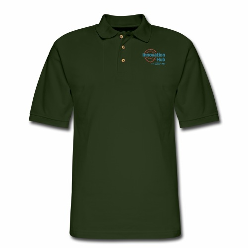 Innovation Hub color logo - Men's Pique Polo Shirt