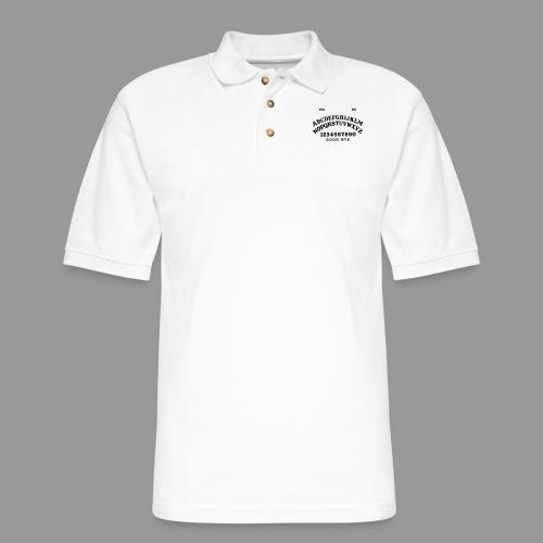 Talking Board - Men's Pique Polo Shirt