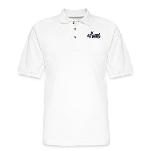 Motorcycle - Men's Pique Polo Shirt