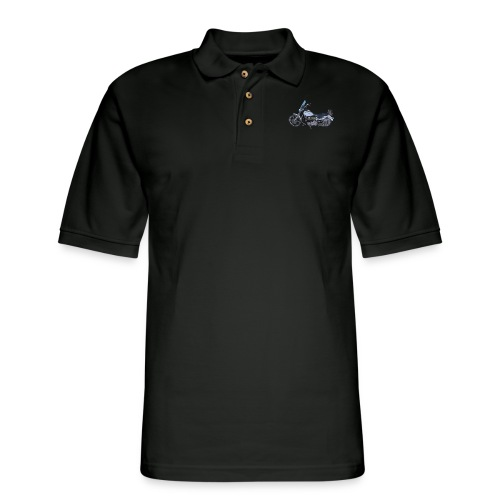 Motorcycle L - Men's Pique Polo Shirt