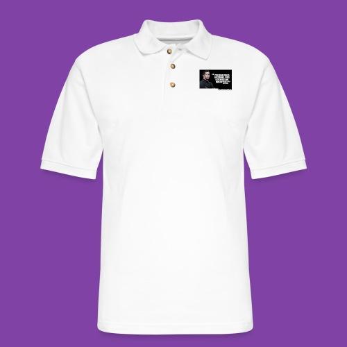 255777-Cristiano-ronaldo------quote-w - Men's Pique Polo Shirt