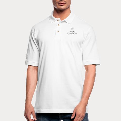Living for Sine Die - Men's Pique Polo Shirt