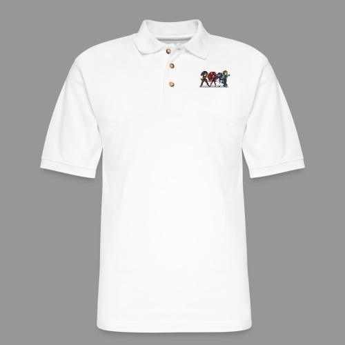 Chibi Autoscorers - Men's Pique Polo Shirt