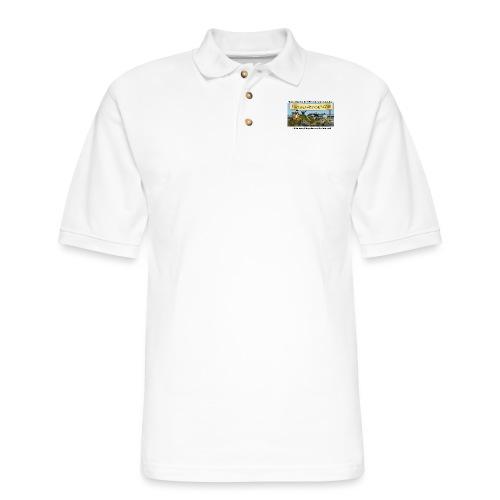 Dinosaur Riders Cap - Men's Pique Polo Shirt
