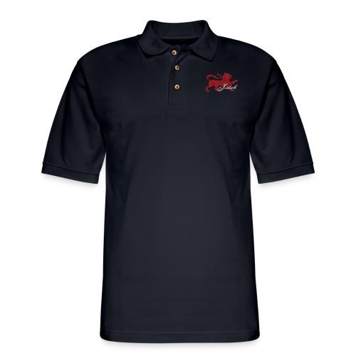 The Lion of Judah - Men's Pique Polo Shirt