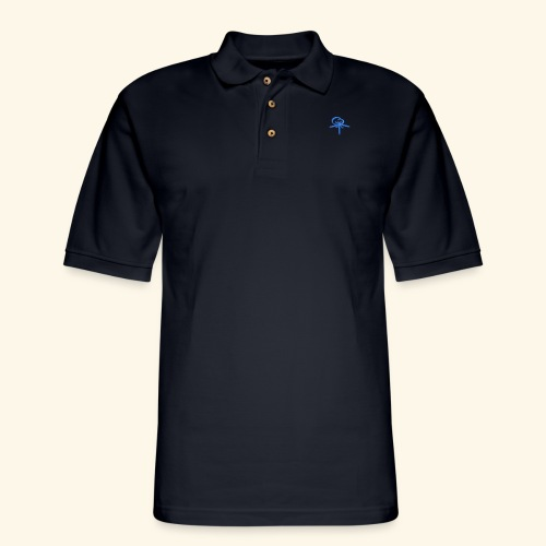Back LOGO LOB - Men's Pique Polo Shirt