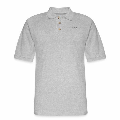 Say No More - Men's Pique Polo Shirt