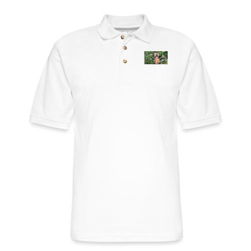 ROBBER CRAB - Men's Pique Polo Shirt