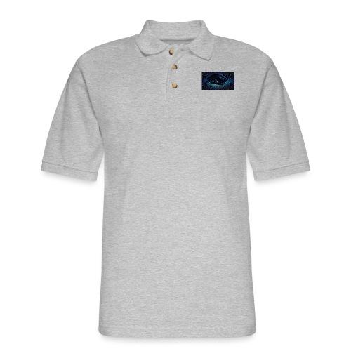 ps4 back grownd - Men's Pique Polo Shirt