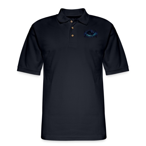 ps4 back grownd - Men's Pique Polo Shirt