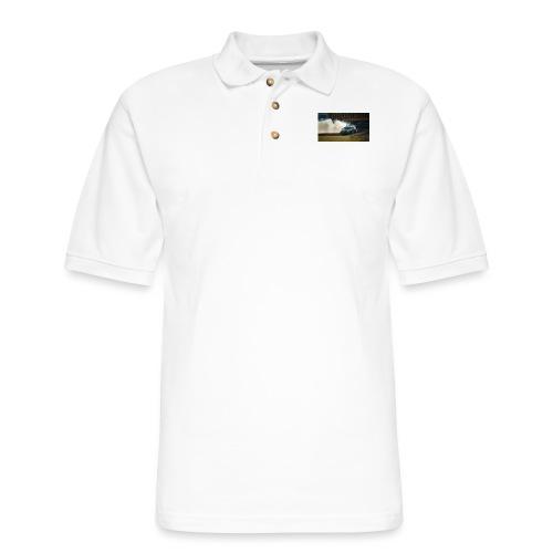 nissan skyline gtr drift r34 96268 1280x720 - Men's Pique Polo Shirt