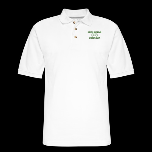 genetic counselor drinking team - Men's Pique Polo Shirt