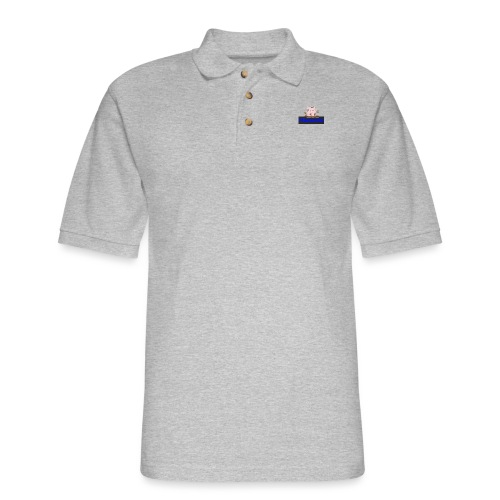 Hammie Join the Mudpile - Men's Pique Polo Shirt