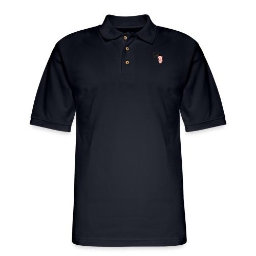 Hammie holding camera - Men's Pique Polo Shirt