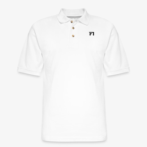 f1 black - Men's Pique Polo Shirt