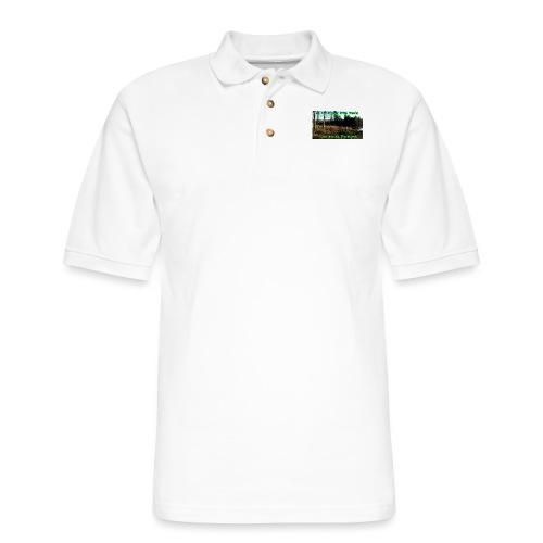 Life Around The Marsh - Men's Pique Polo Shirt