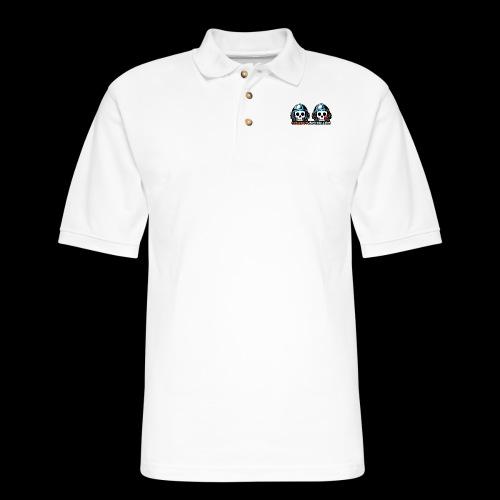 Spaceboy Universe Spaceboy and Surlana - Men's Pique Polo Shirt