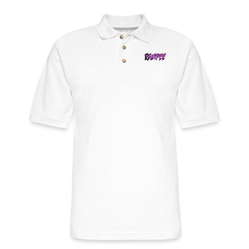 Purple Cloud Rampee - Men's Pique Polo Shirt