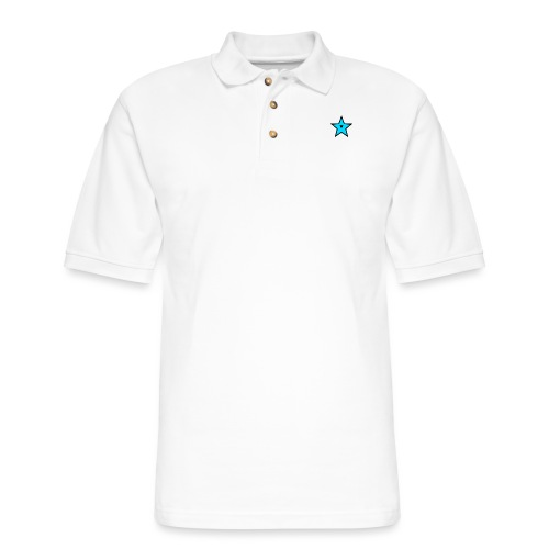 New Star Logo Merchandise - Men's Pique Polo Shirt