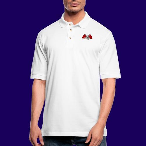 Chaos The Conqueror - Men's Pique Polo Shirt