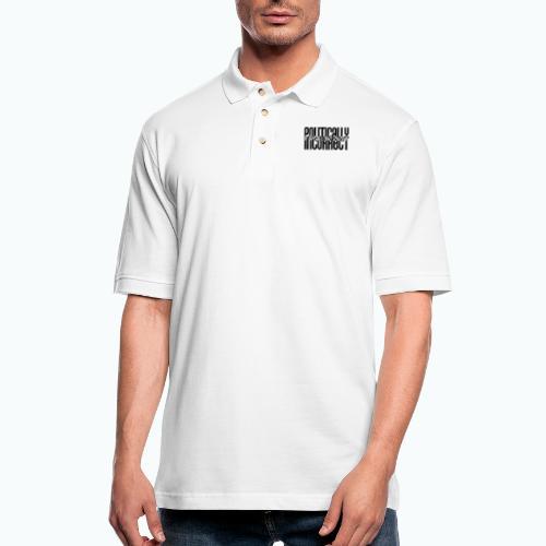 POLITICALLYINCORRECT - Men's Pique Polo Shirt