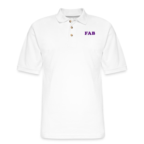 FAB Tank - Men's Pique Polo Shirt