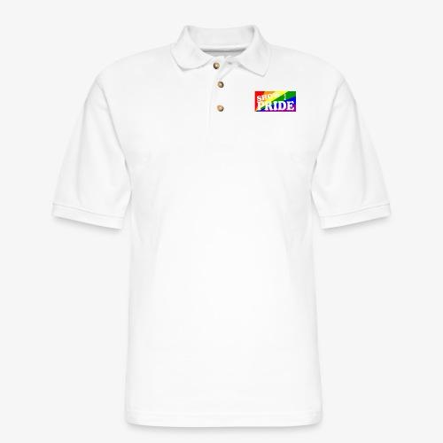 SHOW YOUR PRIDE - Men's Pique Polo Shirt