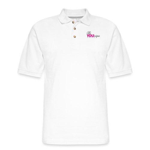 Be Unique Be You Just Be You - Men's Pique Polo Shirt