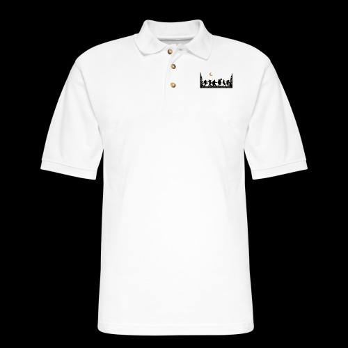 Deadhead dance party - Men's Pique Polo Shirt