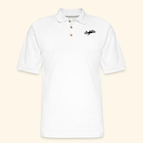 plane - Men's Pique Polo Shirt