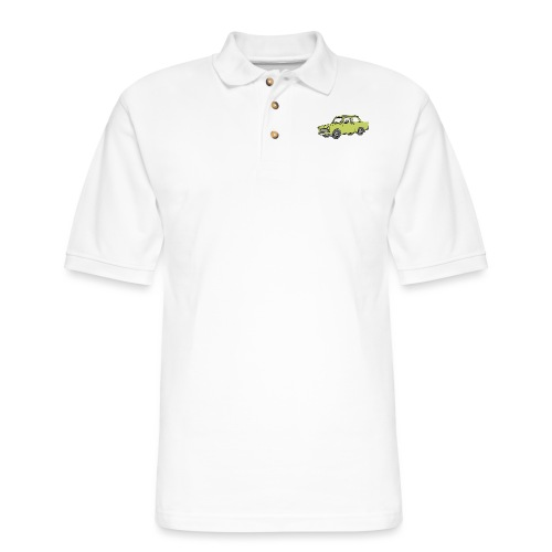 Trabant (baligreen car) - Men's Pique Polo Shirt