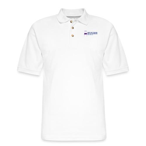 Not My Chair - Men's Pique Polo Shirt