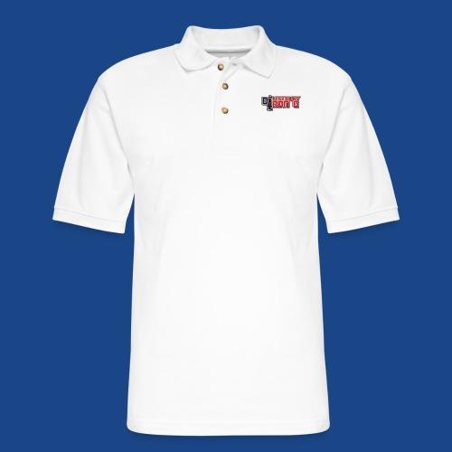 Ron G logo - Men's Pique Polo Shirt