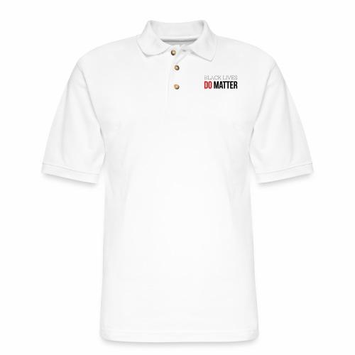 BLACK LIVES DO MATTER - Men's Pique Polo Shirt
