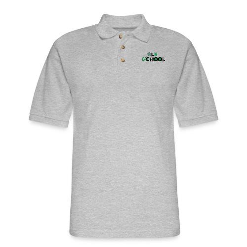 Old School Music - Men's Pique Polo Shirt