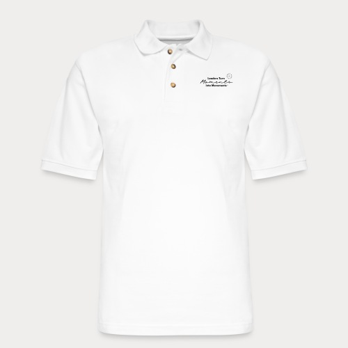 Leaders Turn Moments into Movements - Men's Pique Polo Shirt