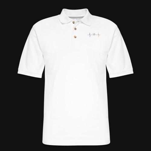 Live & Breathe Dog - Men's Pique Polo Shirt