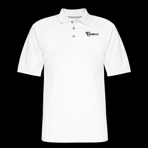 Andy ice Merchandise - Men's Pique Polo Shirt