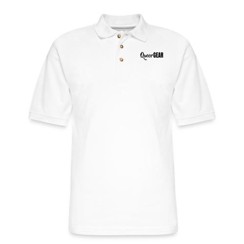 Queer Gear T-Shirt - Men's Pique Polo Shirt